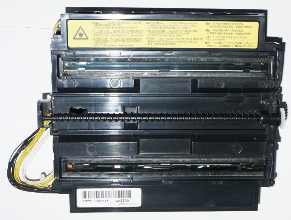 Used Well Kyocera 302HM93030 LK-550 A for:FS-C5200DN