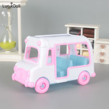 LUCKDOLL Fashion New Mini Car Suitable for 11.8 Inch Doll Toy Accessori