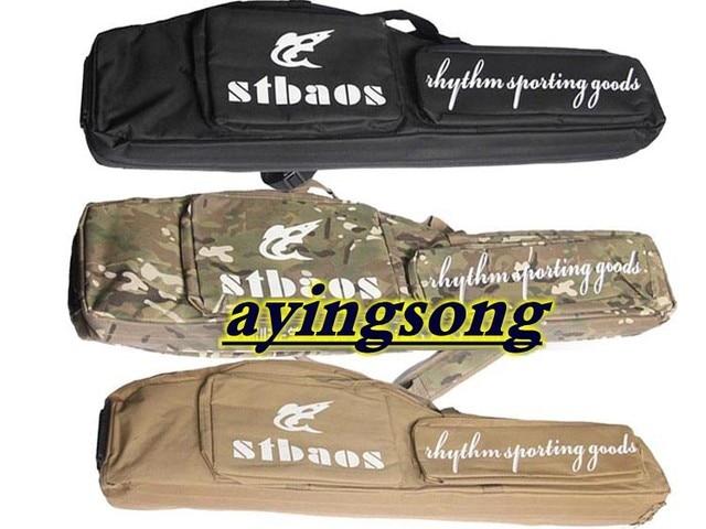 Tactical carry case 1m long rifle gun slip double hunting bag