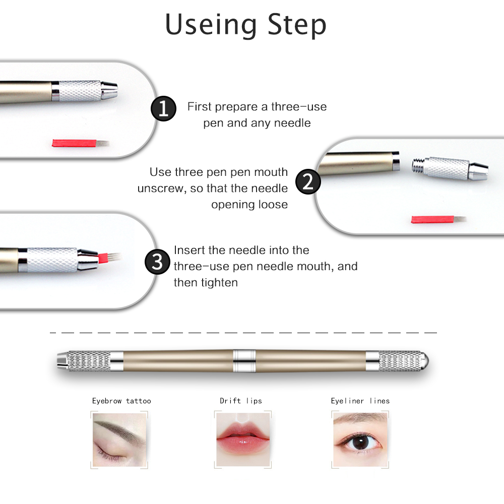 a5b070ccb Manual Eyebrow Tattoo Machine Tebori Microblading 3d Pen For Permanent  Makeup Finer Hair Strokes Cosmetics Tattooing For Lip on Aliexpress.com |  Alibaba ...