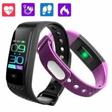 GIMTO Smart Band Sport Watch Men Women Heart Rate Fitness Tracker Smart Bracelet Blood Pressure Measurement Pedometer Waterproof - DISCOUNT ITEM  54% OFF All Category