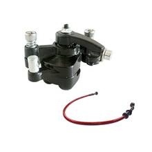 Best Buy Oil Brake Fuel Line Rear Disc Brake Caliper W/ Pad for 43cc 47cc 49cc Mini PIT Dirt Quad Pocket Rocket Bike red