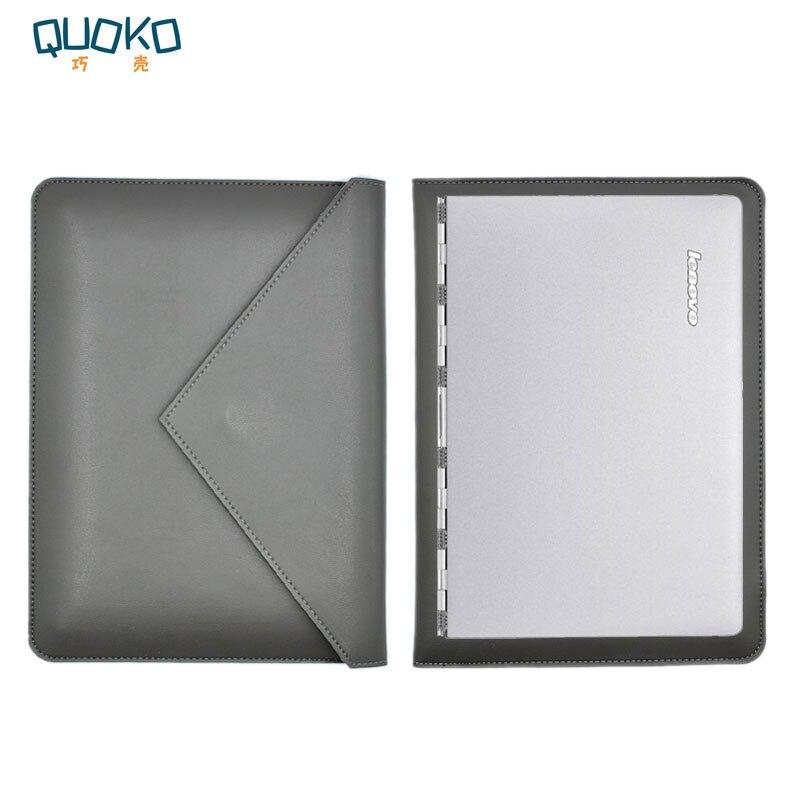 ✔  Сумка для ноутбука из микрофибры с кожаным рукавом Lenovo Yoga 6 Pro (Yoga 920 Yoga 910) 12.5-дюймов ★