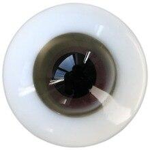 [Wamami] 12 мм бледно-фиолетовый красный и серый светильник для куклы BJD Dollfie стеклянные глаза наряд