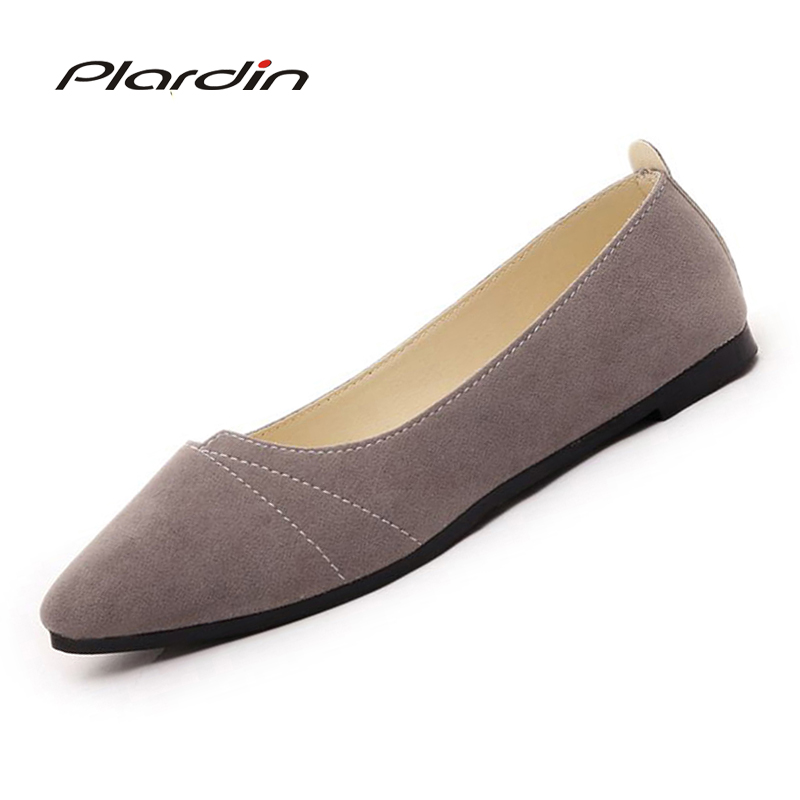 plardin New Ballet Flats Women Shoes Women Four Seasons Mother Shallow Pleated Loafers Flats Shallow Flats shoes slip on woman 2017 summer new fashion sexy lace ladies flats shoes womens pointed toe shallow flats shoes black slip on casual loafers t033109