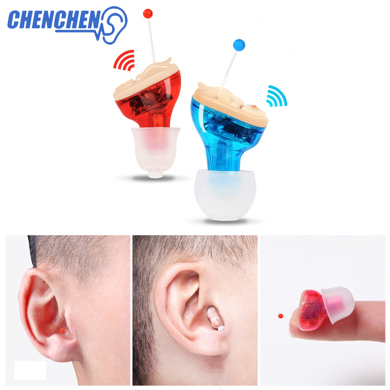 Adjustable Hearing Aid Free Shipping Hearing Amplifier Digital Tone Invisible Hearing Aids Mini Device Sound Amplifier