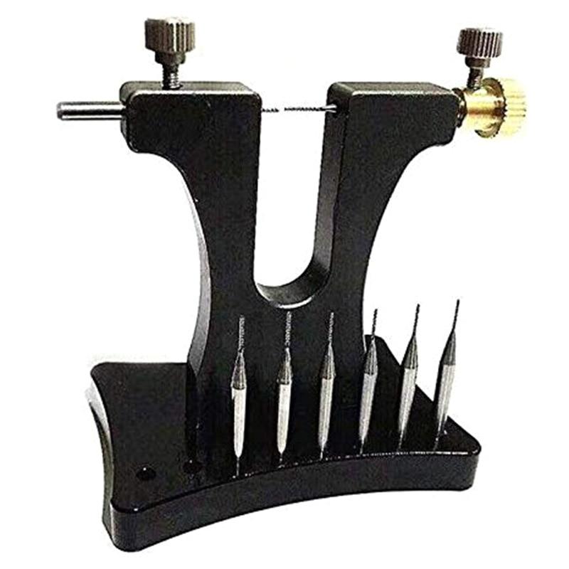 Outil de réparation Pro pour extracteur de vis de mouvement de montre enlevant l'attelle de vis cassée