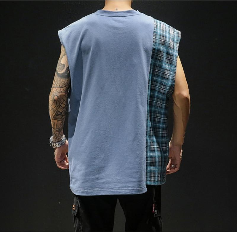 Casual Vest Men 39 s O neck Shirt Summer Men 39 s Bodybuilding Sleeveless Vest Fitness Men 39 s Men 39 s Clothing in Tank Tops from Men 39 s Clothing