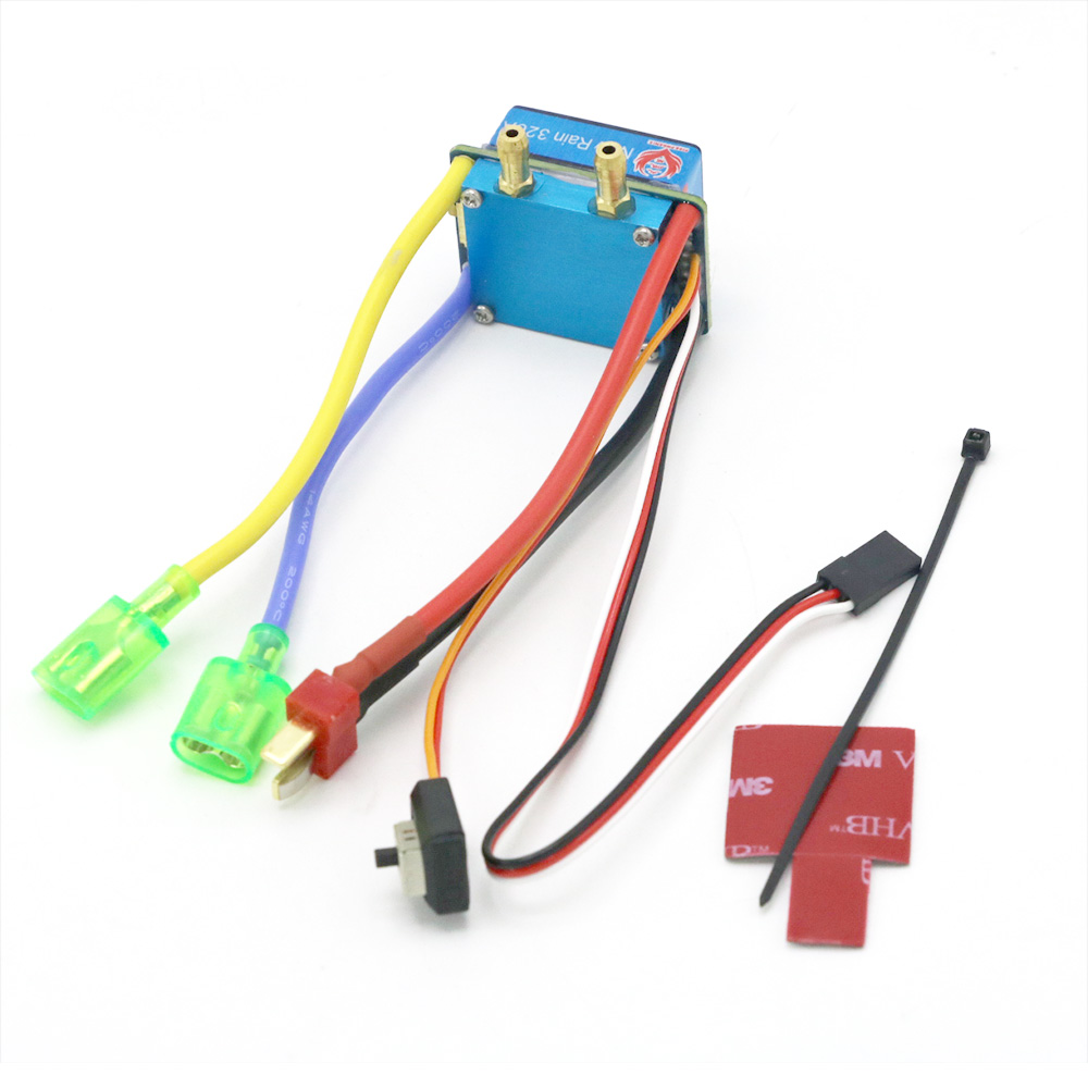 Image 3 - RC ESC 320A 480A Brushed ESC Speed Controller Dual Mode Regulator band brake 5V 3A for 1/10 RC Car Boat-in Parts & Accessories from Toys & Hobbies