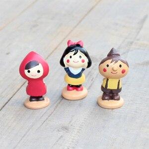 Pano vermelho menina menino bonecas em miniatura estatueta decoração de natal casamento mini fada jardim brinquedo figura ornamentos presente