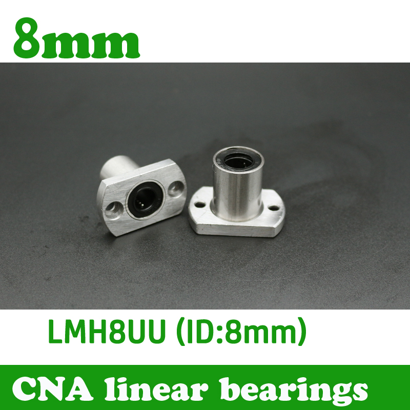 Hot Sale 1pc LMH8UU 8mm Flange Linear Bearing CNC Linear Bush LMH8