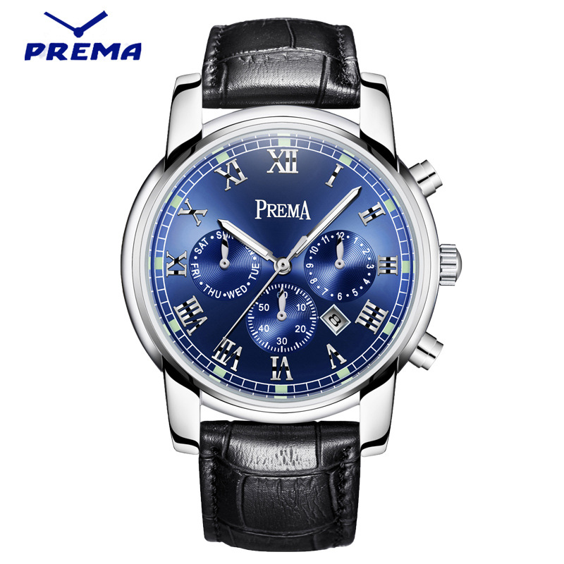 PREMA 2016 Watch Men font b Luxury b font font b Top b font font b