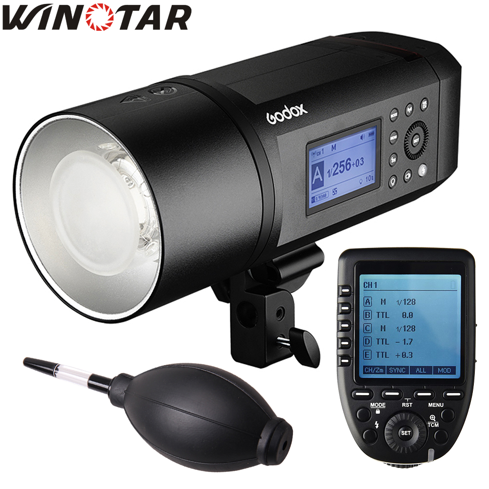 In Stock <font><b>Godox</b></font> <font><b>AD600</b></font> <font><b>Pro</b></font> Portable Outdoor Flash 1/8000s TTL HSS 38W LED Built-in X System Li-on Battery with Xpro Transmitter image