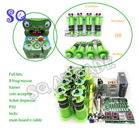 DIY arcade kit for Hitting hamster frog double play hamster kids coin operated game machine