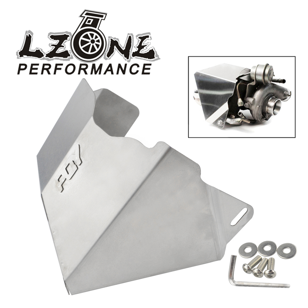 LZONE - Turbo Heat Shield For Subaru WRX 02-14 / STi 04-18 / Legacy GT 05-15 / Forester XT 10-16 JR-THS01 for subaru xv 09 13 forester 10 wrx sti balancing rod ball joint