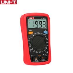 UNI-T  UT33C+ Digital Multimeter Auto Range Palm Size AC DC Voltmeter Ammeter Resistance Capatitance Tester