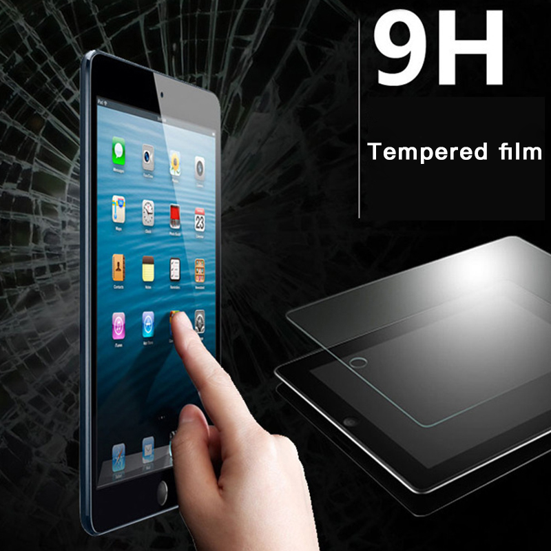 High Quality Toughened Scratch Proof Screen Protector Tempered Glass For iPad 3 4 Air 2 Hardness Explosion proof HD Film Cover