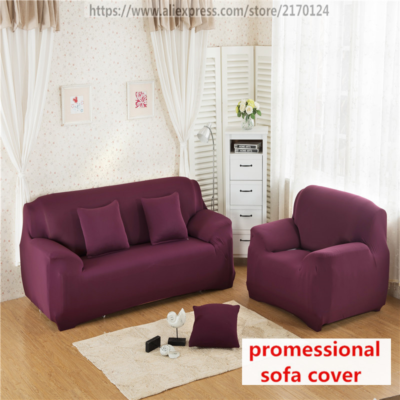 Stretch Sofa Couch cover case sofa Loveseat Cushions universal armchair slipcover fabric corner Sofa Furniture Covers