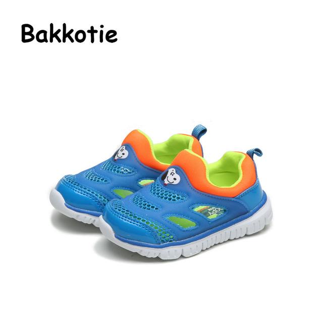 Bakkotie 2017 Niños Moda Primavera Otoño Baby Boy Sport Casual Para Niño Chico Chica Caminando Entrenador Marca Zapatilla de Deporte Respirable