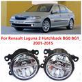 Para Renault Laguna 2 Hatchback BG0 BG1 _ 2001-2015 luzes de Nevoeiro LED Car Styling 10 W Amarelo Branco 2016 novas luzes