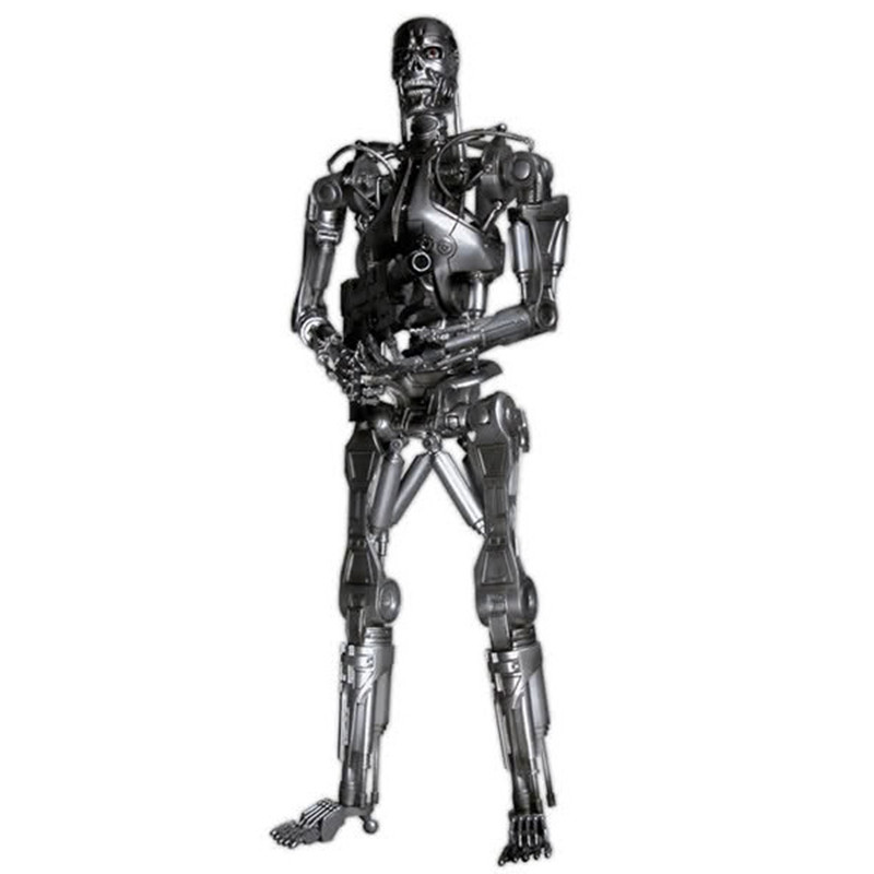 Classic movie neca terminator 2 judgment day t800 endoskeleton pvc action figure...