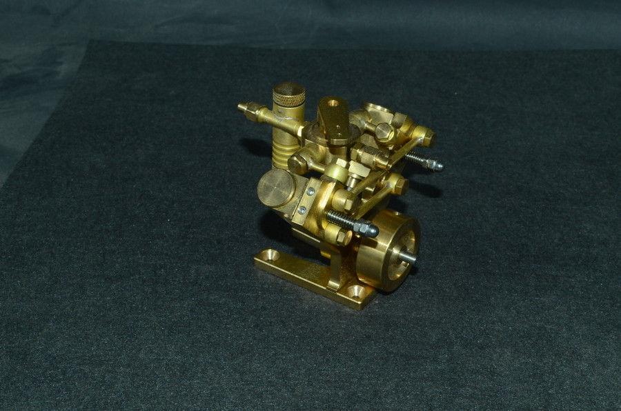 Microcosme Micro Échelle M2B À Vapeur Bicylindre Marine Moteur Stirling Modèle Jouets Pour Childern Cadeau Collection Intelligence Adulte
