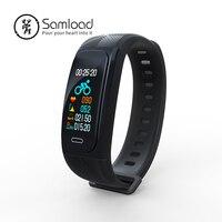 Samload GPS Sport Band Smart Wristband Fitness IP68 Bracelet Running Climbing Swim clock Activity Tracker For Android IOS Phone