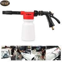 OPQR High Pressure Snow Foamer Water Gun Profession Gun Gar Cleaning Gun car tornado tool Car Water Soap Shampoo Sprayer 900ml