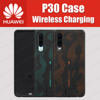 CNR216 UVT Qi 10W Original HUAWEI P30 Wireless Charging Case Magnetic Back Cover Supports Car Mount ELE L09/L29