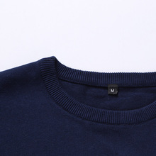 New Autumn Winter Brand Clothing Sweater Men Fashion Trend Stripe Slim Fit Winter Pullover Men 100% Cotton Knitted Sweater Men