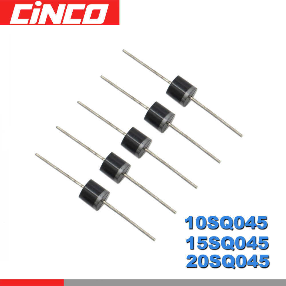 5PCS/LOT 10A 15A 20A 45V 10SQ045 15SQ045 20SQ045 PEC Schottky Barrier Diodes For DIY Solar Cells Panel Junction Box Diodes