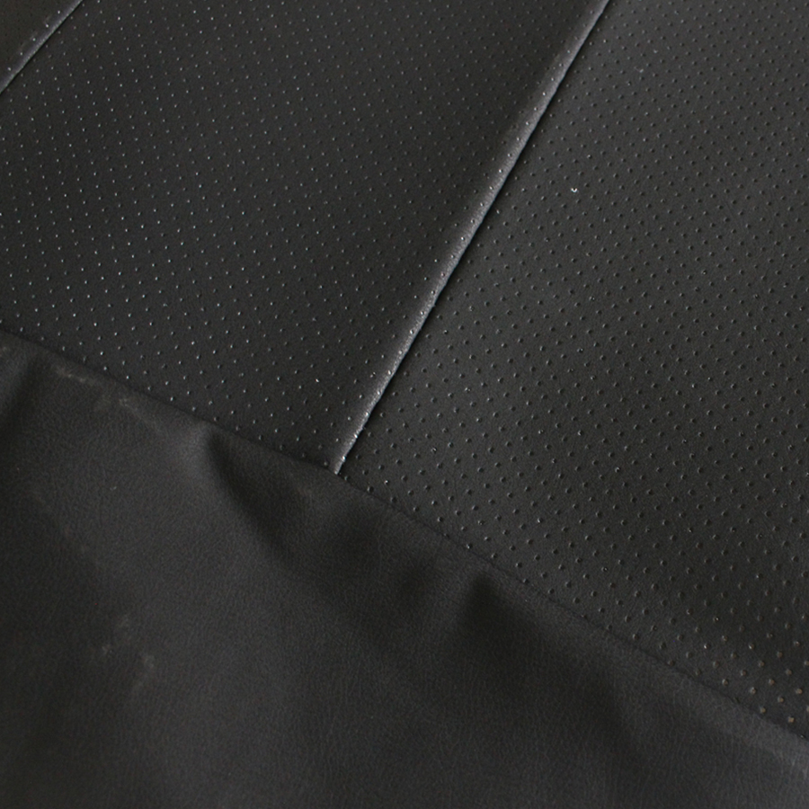 Image 2 - 2pcs PU Leather Front Car Cover Seat  Black Seat Protector Cushion Black Bamboo Charcoal Automotive interior accessories-in Automobiles Seat Covers from Automobiles & Motorcycles