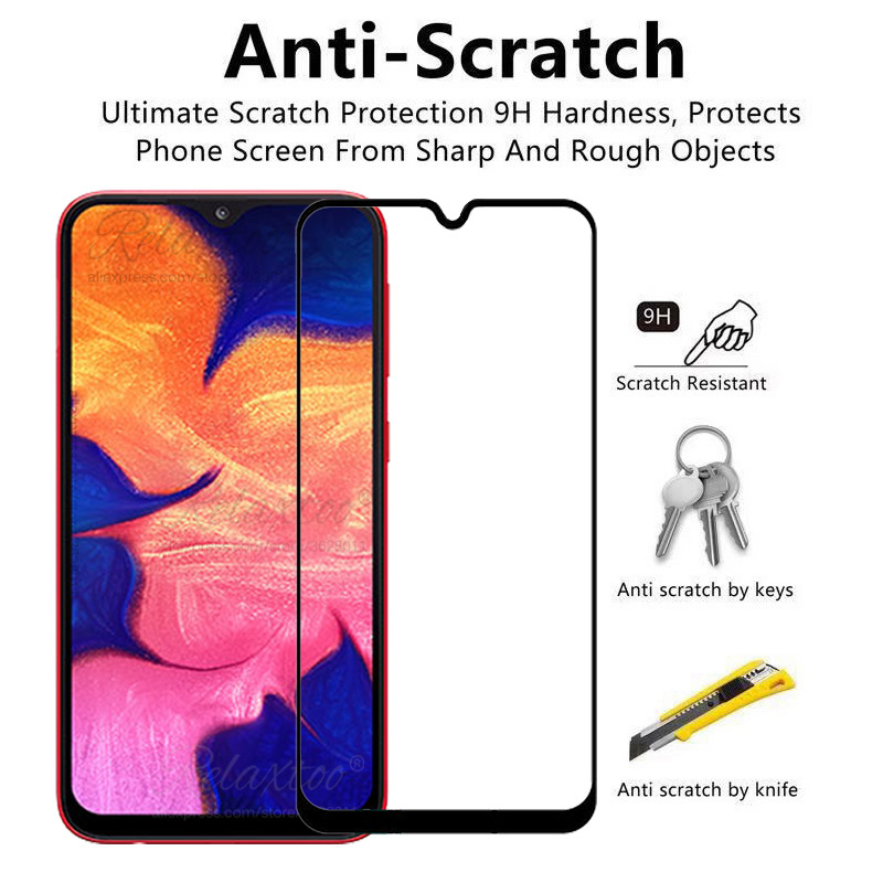 Image 2 - Protective Glass For Samsung A10 Screen Protector On the For Samsung Galaxy A10 Tempered Glas a 10 sm A105F A105 display Film 9h-in Phone Screen Protectors from Cellphones & Telecommunications