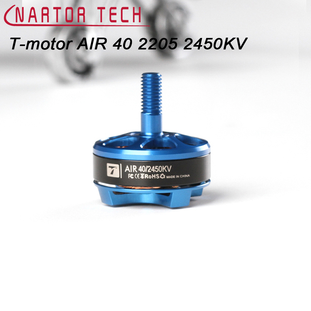 High Quality T-motor AIR 40 2450KV 3-4S Brushless Motor for Racing Drone RC Multicopter t motor brushless motor u10 plus kv80 drone brushless motor
