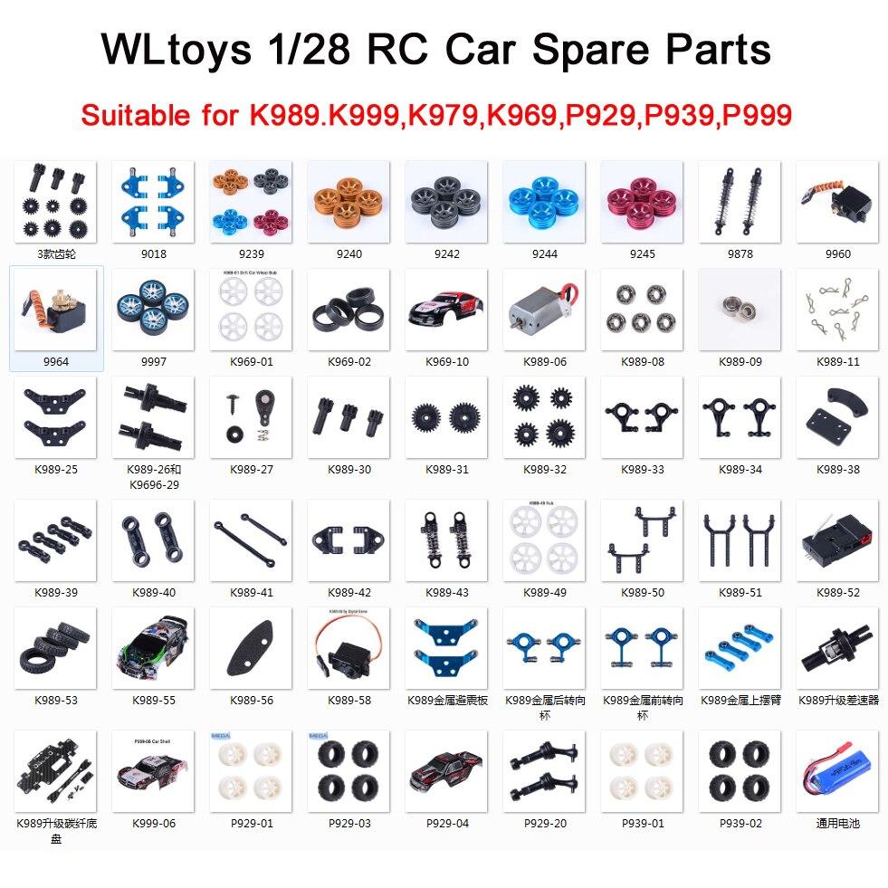 2pcs RC Car Body Shell Cover für WLtoys K989 1//28   Fahrzeug DIY Accs
