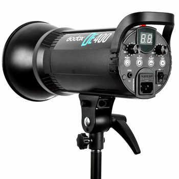 Godox DE400 400W Pro Photography Studio Strobe Flash Light Lamp Head DE Series 220V for wedding/advertising/Fashion shooting