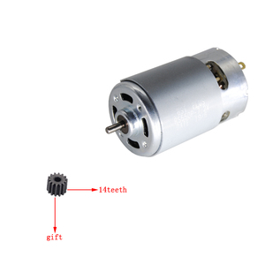 Image 4 - RS550Motor14Teeth (9 10 11 12 13 15 17 24T) (7.2 9.6 10.8 12 14.4 16.8 18 25V)Gear3mmShaft For Cordless Charge Drill Screwdriver