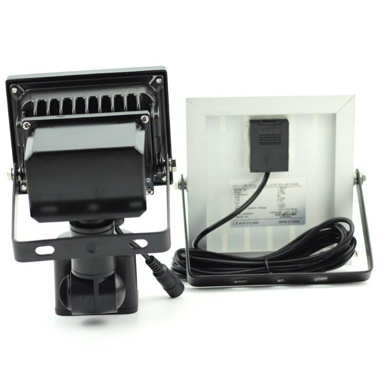 5W Solar Motion Light LED Flood Security Solar Garden Light Pir Motion Sensor LED Solar Light Waterproof Emergency Ip65