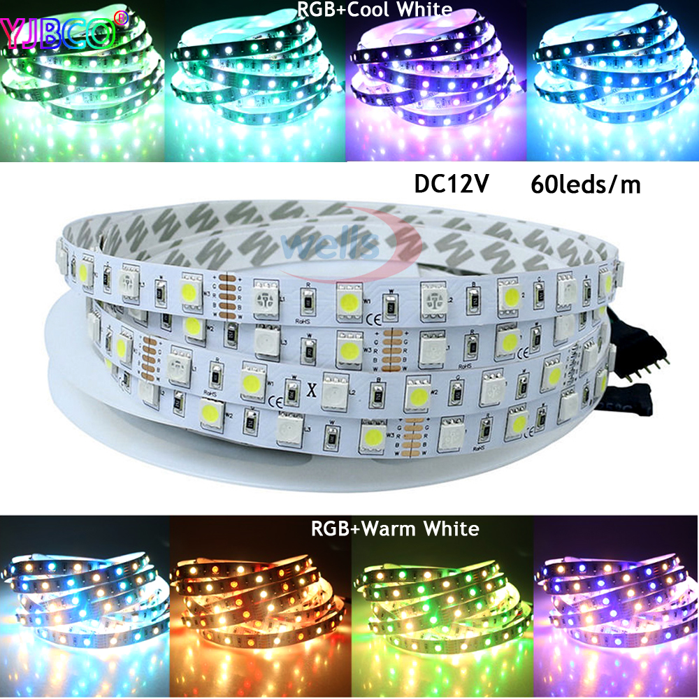 Led Strip Dc12v Curing Cough And Facilitating Expectoration And Relieving Hoarseness warm/cool White Dashing 5m Rgbww Rgbcw 60led/m Ip30/ip65/ip67 300 Leds Smd 5050 Mixed Color 5pin Rgbw Rgb