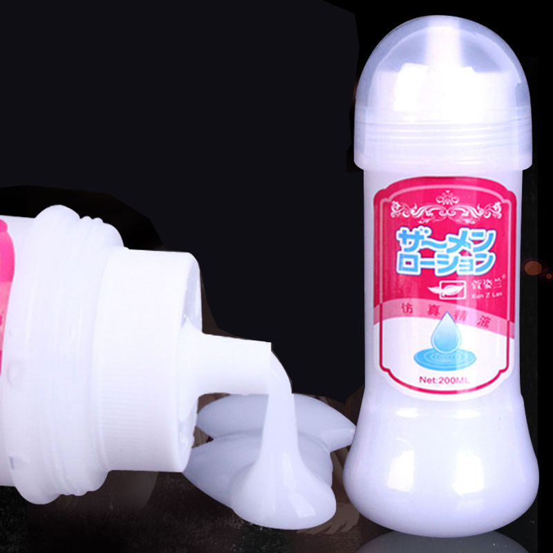 Japanese Simulation Sperm Genuine Powerful Hot Sale <font><b>Sex</b></font> Products Vaginal Lubricating Silk Touch <font><b>Anal</b></font> <font><b>Lubricant</b></font> <font><b>Sex</b></font> Oil <font><b>Anal</b></font> Gel image