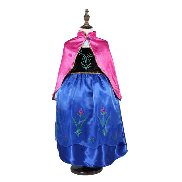 US $8 29 17% OFF|Aliexpress com : Buy Disney Frozen Children Cosplay Snow  White Girl Princess Halloween Party dress Costume Children Clothing Sets
