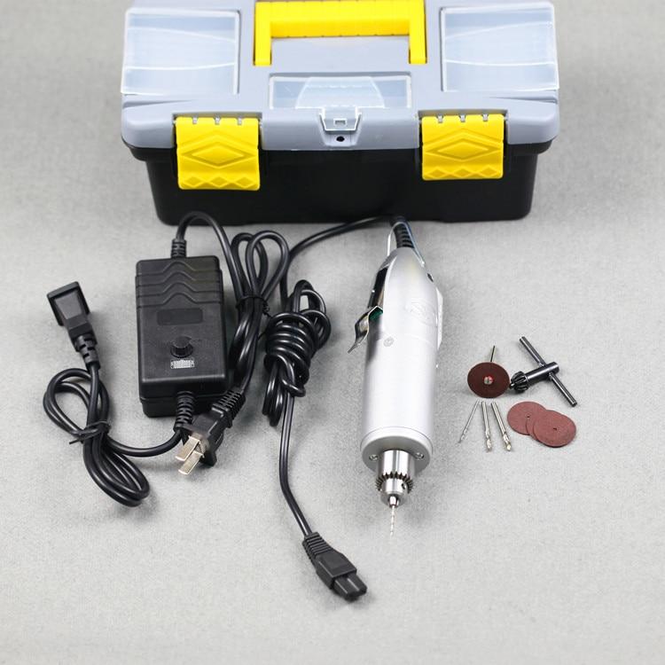 Mikroelektrinis rankinis gręžtuvas / reguliuojamas kintamo greičio - Elektriniai įrankiai - Nuotrauka 2