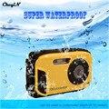 Top Qualidade 10 Metros Câmera Digital À Prova D' Água Resistência Queda Choque 2.7 polegada Telas HD CMOS Mini Câmera Filmadora-2930