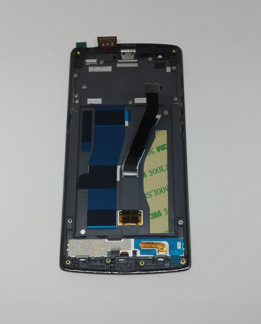 Lcd display screen Touch Glass Screen Frame assembly for oneplus one 1 Pantalla Digitizer free shipping
