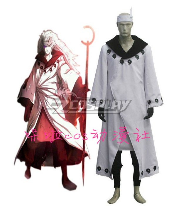 Naruto Madara Uchiha Cosplay Costume Halloween Uniform