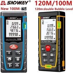 SNDWAY 40M 60M 80M 100M الليزر rangefinder الرقمية ليزر مقياس مسافات الليزر المدى مكتشف الشريط جهاز قياس المسافات حاكم الروليت