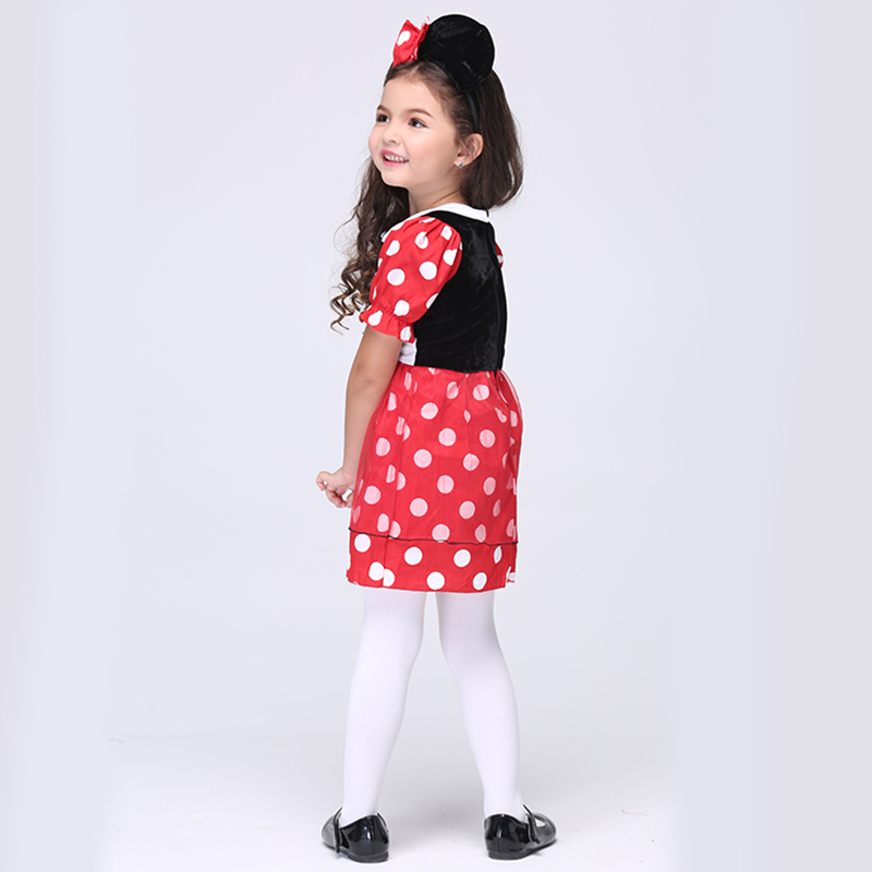 2018 Hot Mickey Minnie Cosplay Costume Halloween Costume Kids Girl Performance Dance Christmas Cartoon Costume-in Girls Costumes from Novelty u0026 Special Use ...  sc 1 st  AliExpress.com & 2018 Hot Mickey Minnie Cosplay Costume Halloween Costume Kids Girl ...
