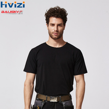work wear t shirt work safety clothing workwear dry fast fit t shirt short sleeve reflective safety shirt free shipping B227