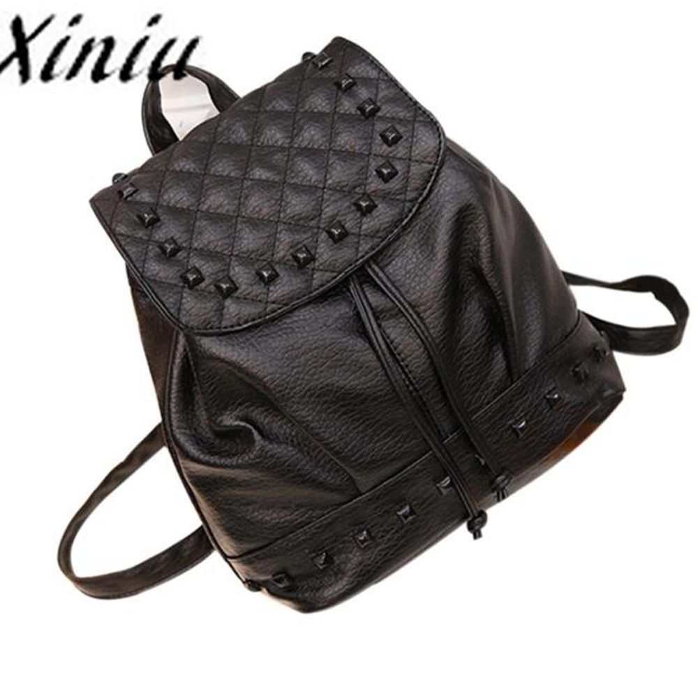 Backpack Women Leather School Bag Satchel Rucksack Women Super Quality Mochilas Mujer Mochila Escolar Sac A Dos Femme #zer Backpacks