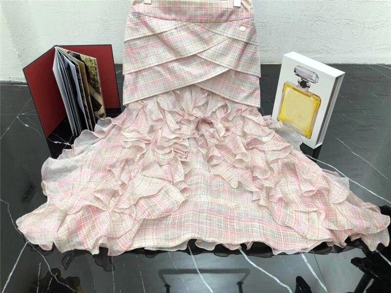 Mode D'été 2018 Nouvelles Dentelle Robe De Jupe Lady Bal Rose Femmes ligne Casual A HxnC7qvZ7w